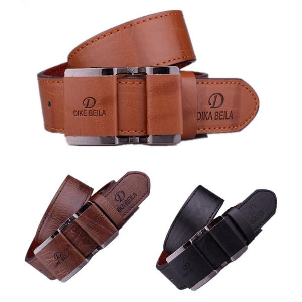 Beige Leather Belt with Bronze Buckle Gift for Wedding Handmade. Design Belt for men Camel leather  Belt for Jeans Luxury gift for Him