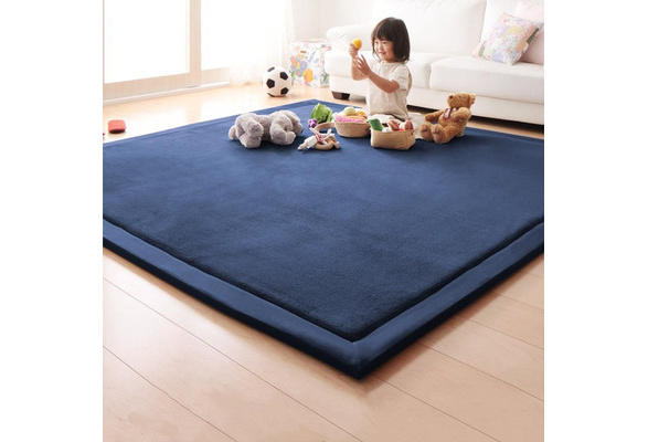 imobaby Flamingo Birds Pattern Non-Skid Indoor Area Rug Doormats Soft Floor Mat Outdoor 63 x 48 in