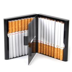 doublesidedflipopen, case, Aluminum, Cigarettes