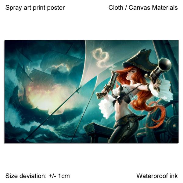 missfortune, Print, Sprays, art