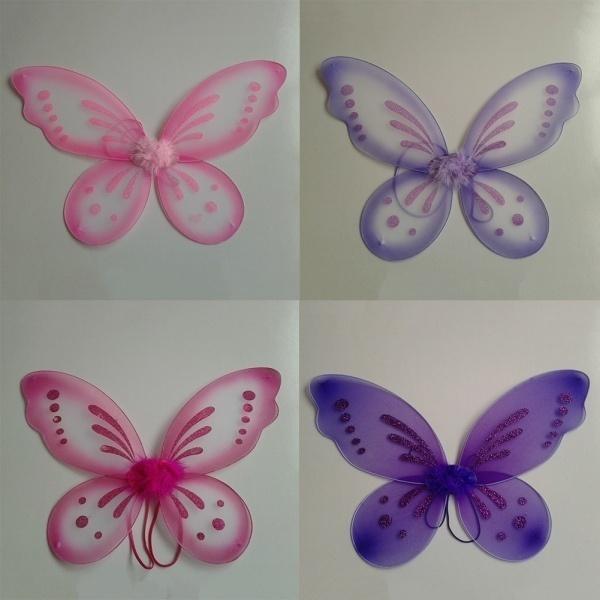 butterfly, Angel, Baby, Wings