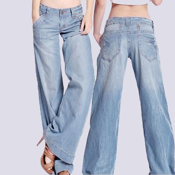 trousers, flaredtrouser, Denim, slim