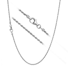 Sterling, Chain Necklace, DIAMOND, Jewelry