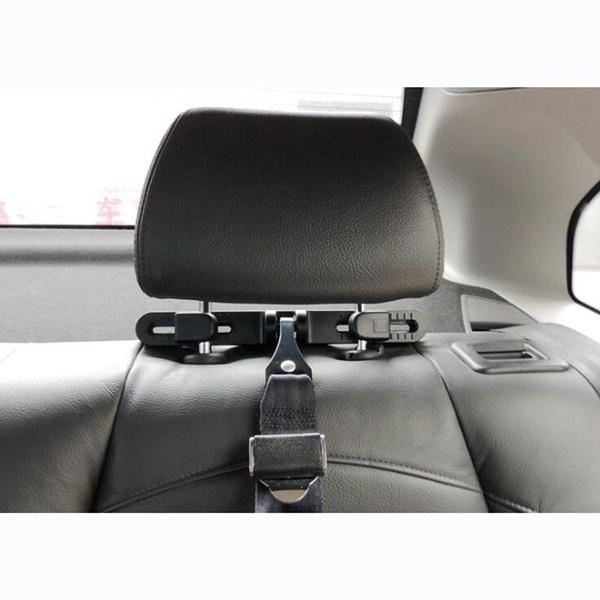 MASO Universal ISOFIX Seat Latch Bracket Holder for Car Baby Child Seat Chair Belt Connector Headrest Mount