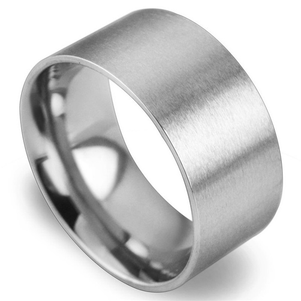 Couple Rings, men_rings, titanium steel, lover gifts