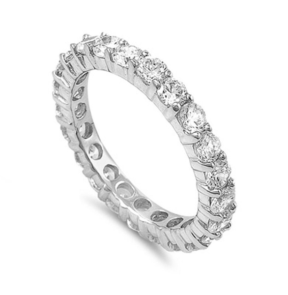 czring, 925 sterling silver, wedding ring, Silver Ring