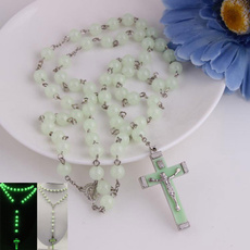 noctilucent, rosary, Jewelry, Gifts