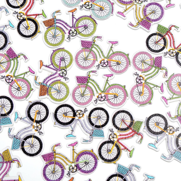 Bicycle, decorativeaccessorie, buttonspin, Mixed Color