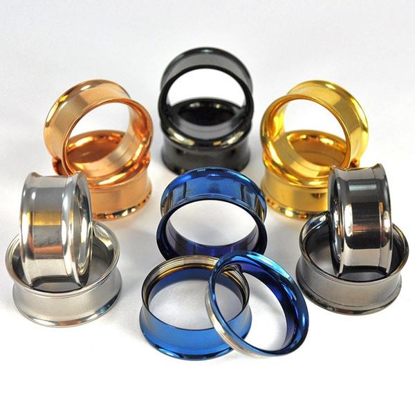 Steel, Fashion, Jewelry, earexpander