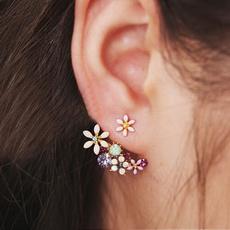 Stud, Flowers, Jewelry, Stud Earring