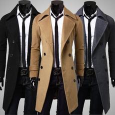 woolen coat, Fashion, Jacket, menswinterovercoat