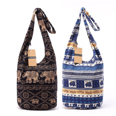 cottonbag, women's shoulder bags, Designers, Capacity