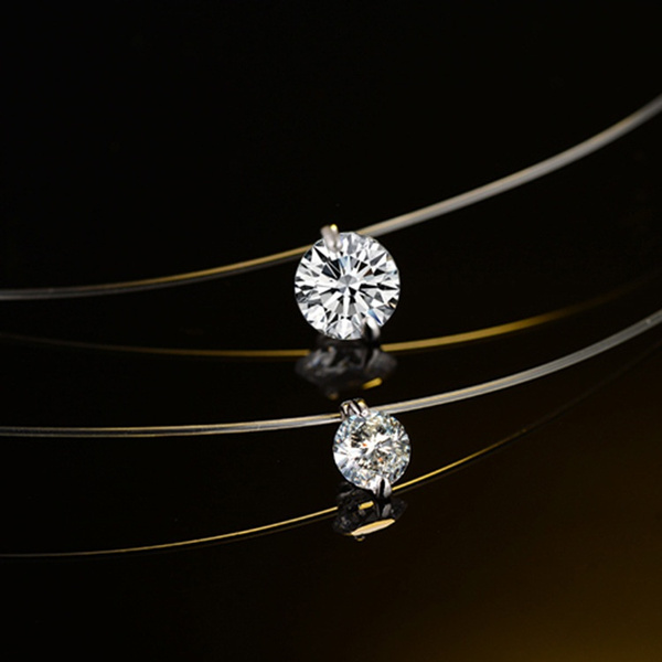fishinglinefornecklace, invisiblenecklace, Jewelry, valentinesdaypresent