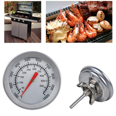 Steel, Grill, cookingthermometer, temperaturegauge