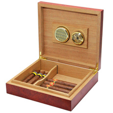 case, brown, cigarrerhumidor, cigarhumidor