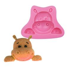 hippo, cartooncookiemold, cow, Silicone