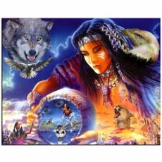 thespiritofindian, DIAMOND, Jewelry, largedreamcatcher