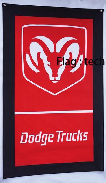 Dodge, advertisingbanner, carflag, decoratingflag
