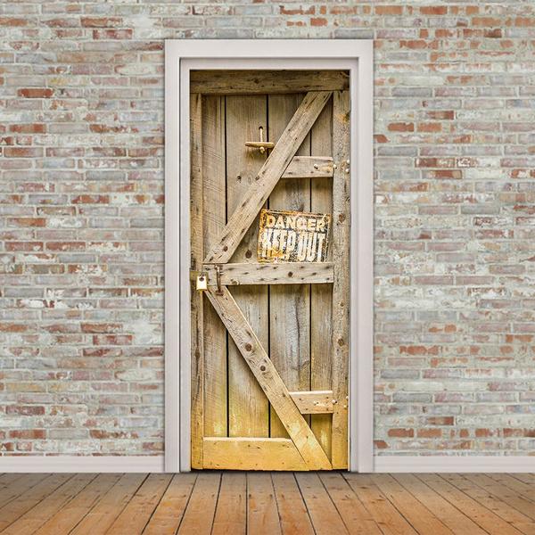 selfadhesivepainting, Door, doorsticker, Waterproof