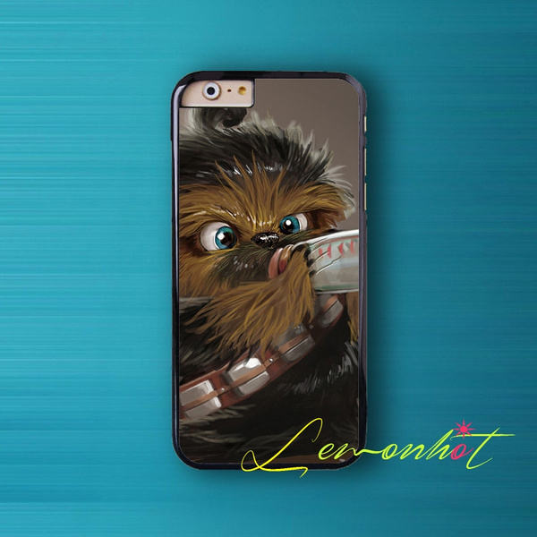 Coque Star Wars Baby Chewbacca Case for iPhone 7/6S/6/SE/5S/5/5C/4S/4 Plus Case for iPod Touch 5/6 Case Cover for Samsung Galaxy S7/S7 Edge/S6/S6 ...