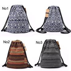 Chic, bohemianbag, women backpack, Bags