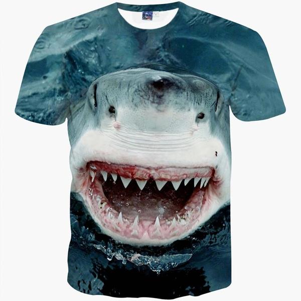 Tops & Tees, Shark, Tees & T-Shirts, Shirt