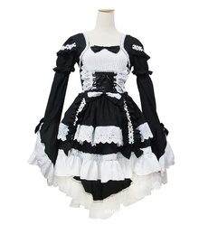 GOTHIC DRESS, ruffle, Lace, sweetdollydre