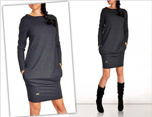 Fashion, Winter, Long sleeved, Tops