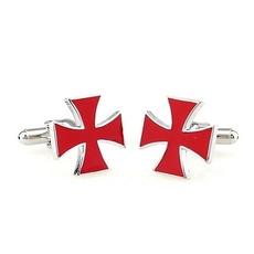 cross cufflinks, Cuff Links, medals, Men