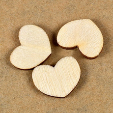 Heart, Scrapbooking, sewingbutton, Wooden