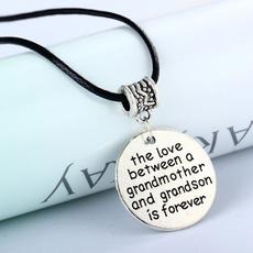 grandmothernecklace, Jewelry, grandson, letternecklace