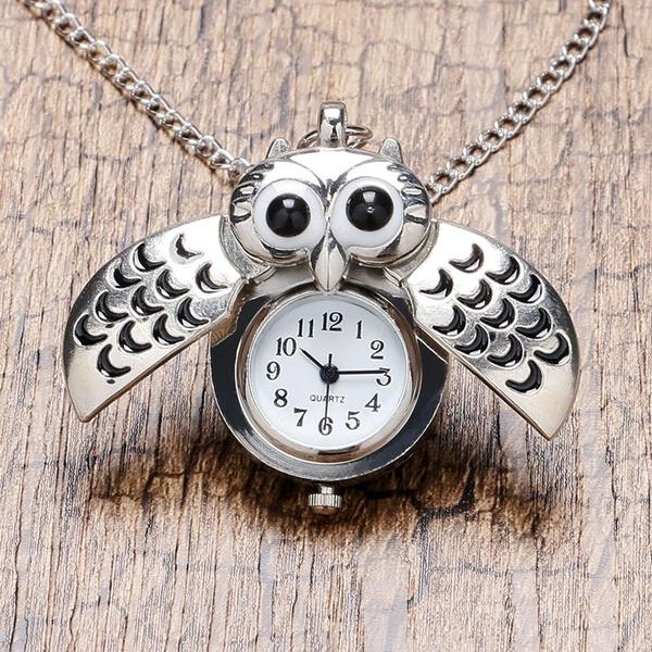 Antique, Owl, Fashion, Jewelry