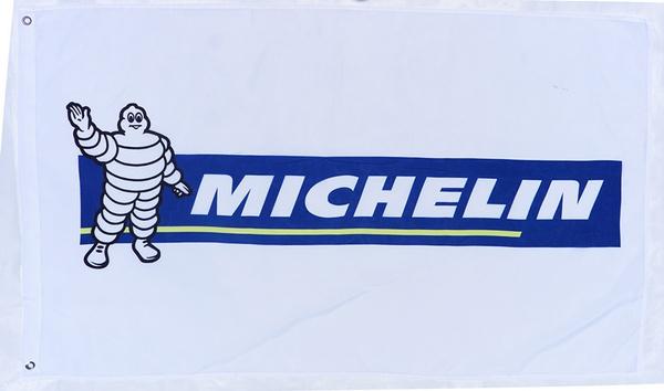 michelinbannerflag, carflag, outdoorflag, carlogo
