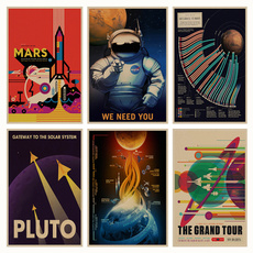 decoration, spacetravel, Home & Living, Posters