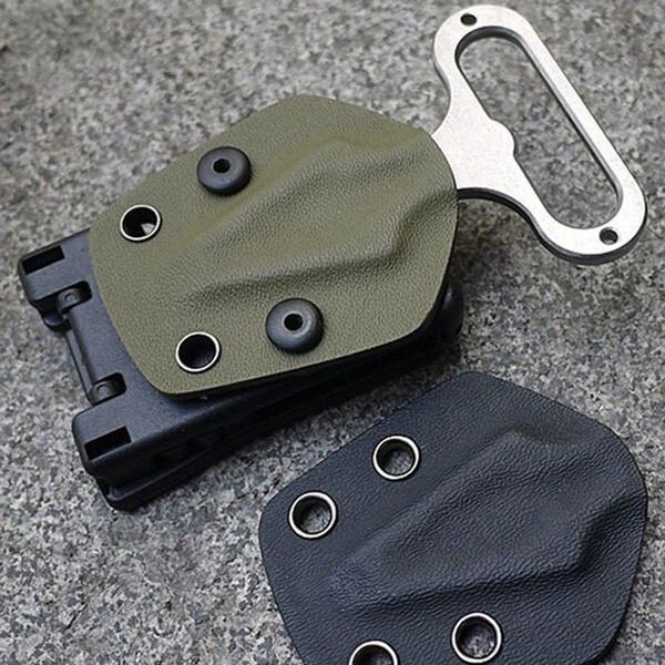New Multi Function K Sheath Kydex Scabbard Shell Belt Clip Waist Clamp Camping U