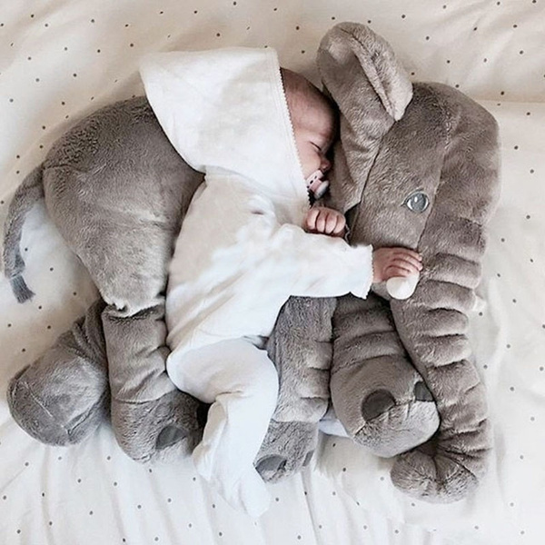 Vintage Smokey The Bear Teddy Bear, 60cm Elephant Plush Toys Placate Doll Stuffed Plush Pillow Home Decor For Children Gifts Wish