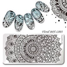 nail decoration, Steel, art, imageplate