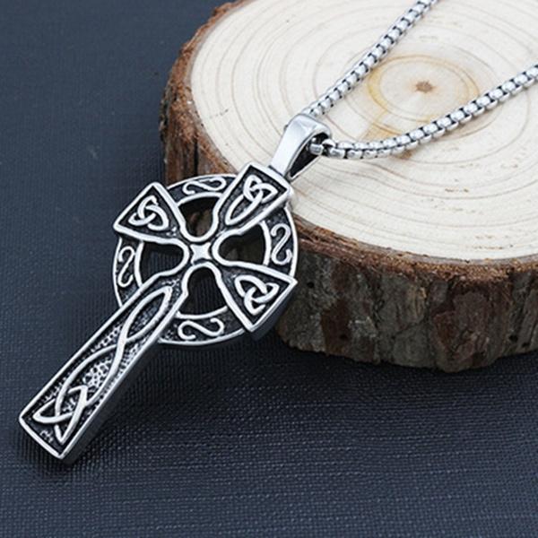 Irish, Fashion, Cross necklace, Cross Pendant