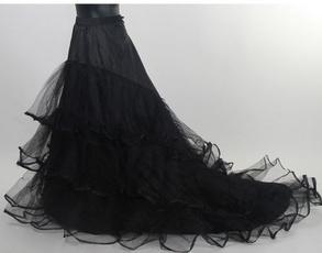 Skirts, Dress, alinepetticoat, petticoat