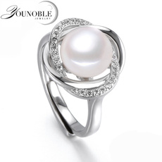 pearls, white, Adjustable, Jewelry