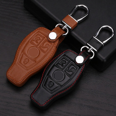benz, Key Chain, Mercedes, leather