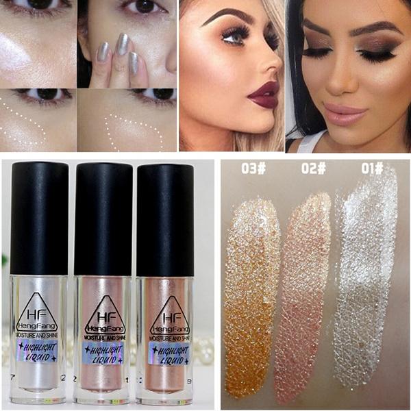 Y Women Makeup Gold Highlighter