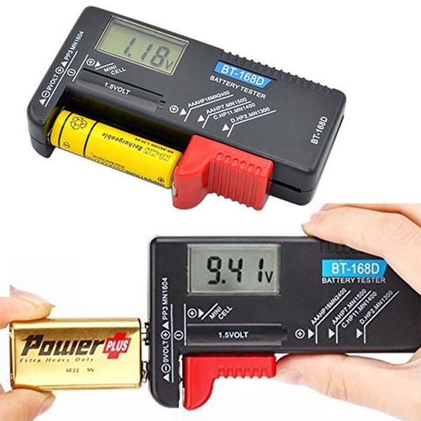 universalbatterytester, buttonbatterytester, Battery, Tool
