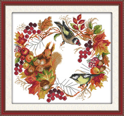 crossstitch, crossstitchfabric, 11ctprintedembroidery, Fashion