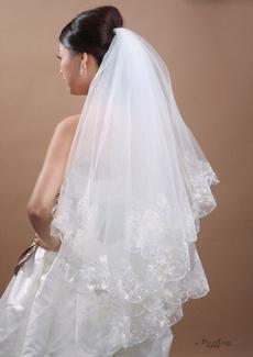 Ivory, Bridal, longbridalveil, Lace