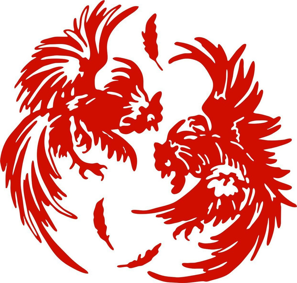 Rooster Hen Chickens chicks for Car Window Bumper Macbook Laptop Decal Sticker