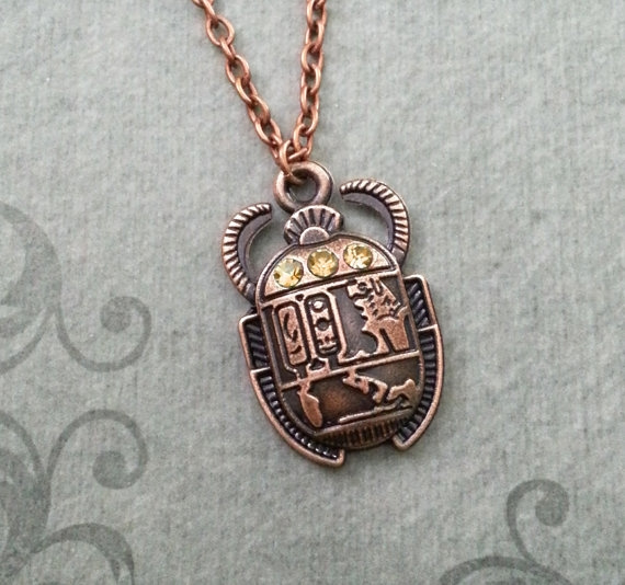 Copper, insectjewelry, Christmas, Egyptian