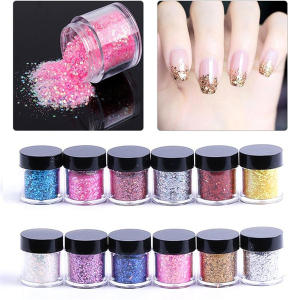 Fashion, nailglitter, Beauty, Glitter