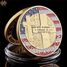 eurocoin, Antique, goldplatedcoin, goldplated