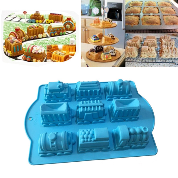 Silicone Candle Soap Mold Chocolate Baking Mould Rectangle Casting Making Tool J